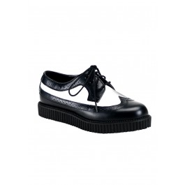 Men'S 1 Inch Lace-Up Creeper Shoe