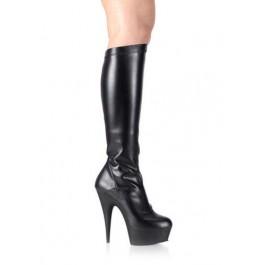 5 3/4 Spike Heel Platform Stretch Knee Boot Women'S Size Shoe