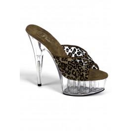 Women's 6 Inch Heel Platform Slide