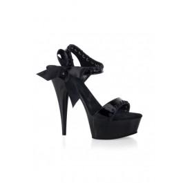 Women's 6 Inch Stiletto Heel Ankle Strap Platform Sandal