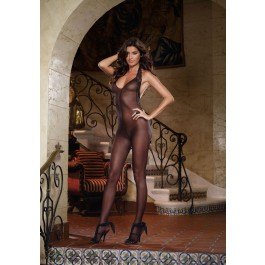 Women's Sheer Bodystocking Diamond