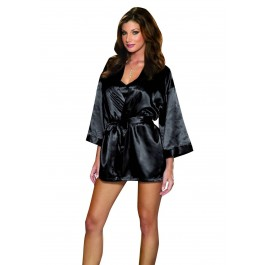 Shalimar Charmeuse Babydoll And Robe