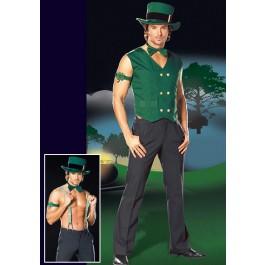 Mens Get Lucky Leprechaun Costume