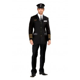 Mile High Captain Hugh Jorgan Costume