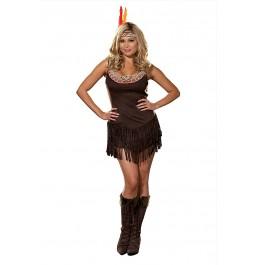 Plus Size Pocahottie Costume