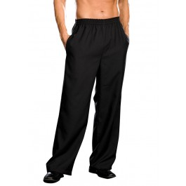 Men's Basic Pant With Elastic Waist