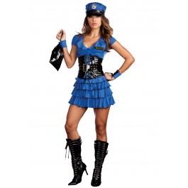 Dreamgirl 7669 Late Night Patrol Sexy Police Costume