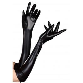 Long Wet Look Dominique Glove