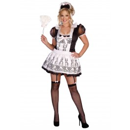 Plus Size Maid To Order