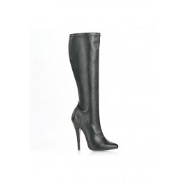 6 Inch Plain Stretch Knee Boot
