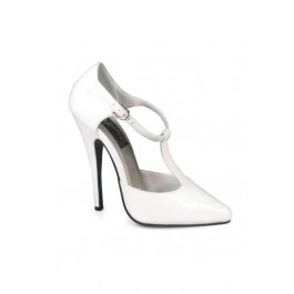6 Inch T-Strap D'Orasay Style Pump