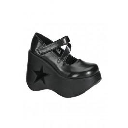 5 1/4 Inch Star Mary Jane Platform Shoes