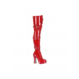 5 Inch Stack Heel With 1 1/2 Inch Platform Boots
