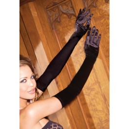Opera Length Satin Gloves