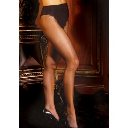 French Cut Support Sheer Pantyhose