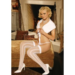 Sheer Striped Stockings