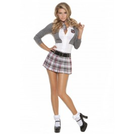 Queen Of Detention - 3 Pc. Costume