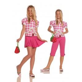 Junior's Strawberry Sweetie Costume