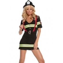 Ms. Blazin' Hot-2 Pc. Costume Includes Dress And Belt