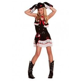 Junior's Cowgirl Cutie Costume