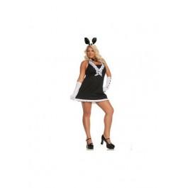 Plus Size Tie Bunny Costume