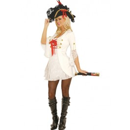 Sexy Pirate 2 Piece Holiday Party Costume Set