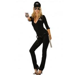 Sexy Fbi Agent 7 Piece Costume Set