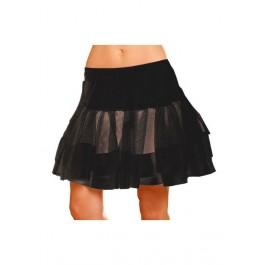 Plus Size Satin Trim Petticoat
