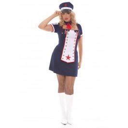Naval Knockout - Light Up Costume.