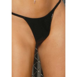 Plus Size Vinyl G-String