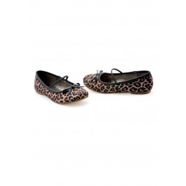 Children's Leopard Ballet Slipper