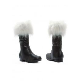Children's 1 Inch Heel Santa Boot