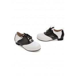 Children's 1 Inch Heel Saddle Shoe