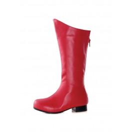 Children's 1 Inch Heel Superhero Ankle Boot