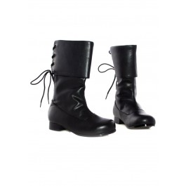 Children's 1 Inch Heel Pirate Ankle Boot