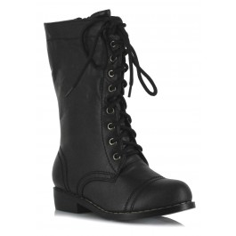Children's 1 Inch Ankle Combat Boot
