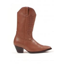 Children's 1.5 Inch Heel Cowboy Ankle Boot