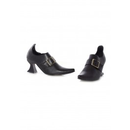 Children's 2.5 Inch Witch Shoe With Buckle
