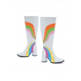 """Jiggy 3"""" Knee High Boots With Zipper"""