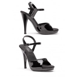 4.5 Inch Heel Sandal Women'S Size Shoe With Ankle Strap