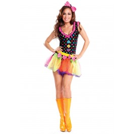 4 Inch Knee High Boot Neon