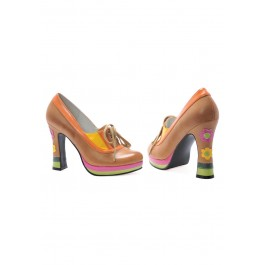 """Farout 4"""" Chunky Heel With Laces"""