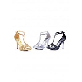 "Majestic 4"" Heel Rhinestone Sandal"