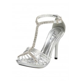 "Monarch 4"" Heel Rhinestone Sandal"