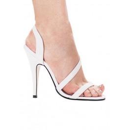 5 Inch Heel Strappy Sandal Women'S Size Shoe