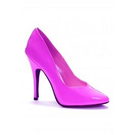 5 Inch Heel Pump Women'S Size Shoe With Closed Toe