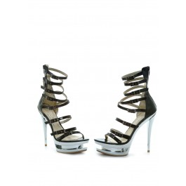 Barbi 6 Heel Sandal With Zipper