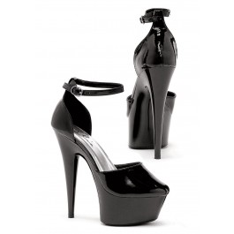 6 Inch Pointed Stiletto Pump Women'S Size Shoe With Ankle Strap