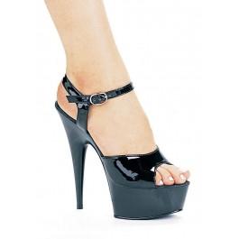 Women's 6 Inch Pointed Stiletto Platform Sandal