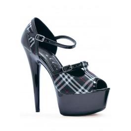 Pika 6 Pointed Heel Platform Sandal